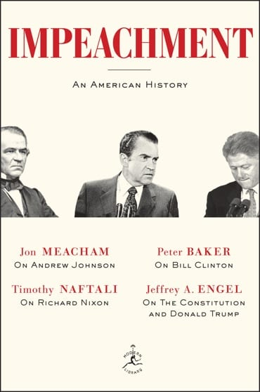 """Event POSTPONED – """"Impeachment: An American History"""""""