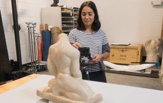 SMU Art History 3D modeling