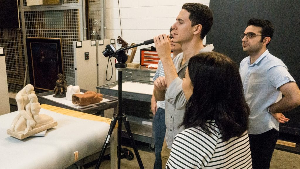 Art History SMU 3D Modeling Graduate Studies