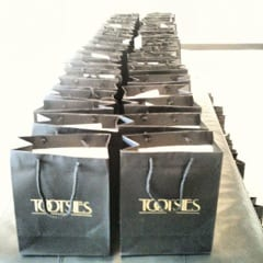 SMU Fashion Week gift bags