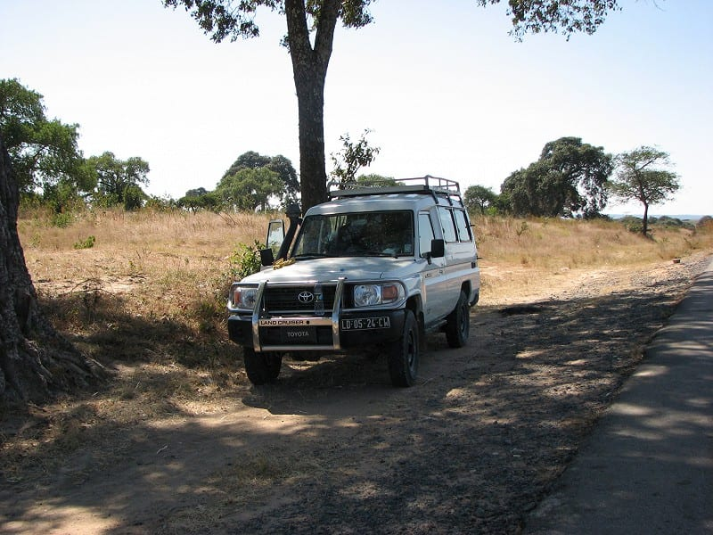 Mike and Louis' field truck, Angola