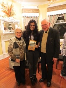 Hiba with Rev. Robert and Jeannie Graetz in Montgomery