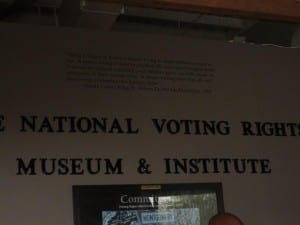 The National Voting Rights Museum and Institute, Selma, Alabama