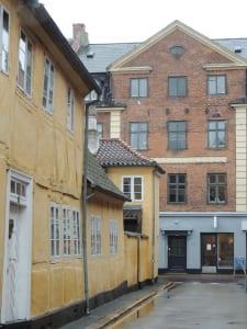 Houses in Helsingborg, Sweden