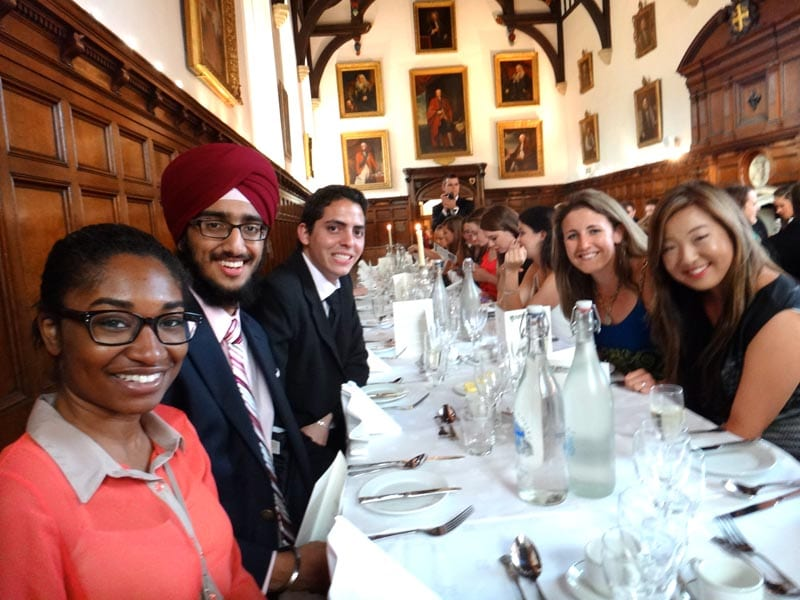 SMU-in-Oxford at High Table