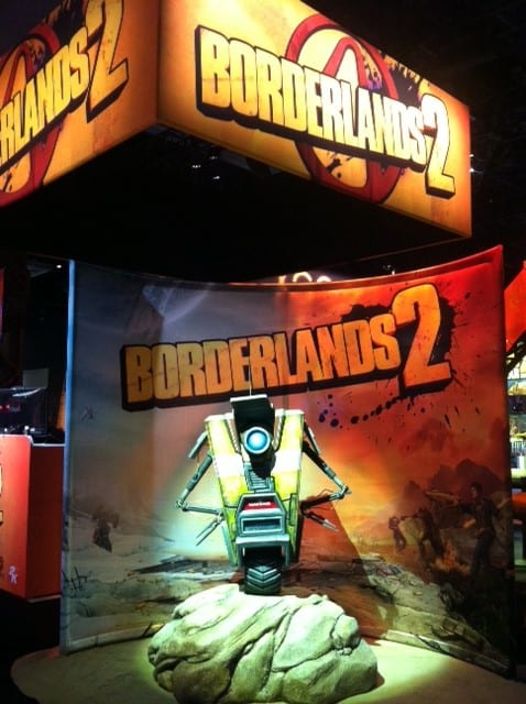 PAX Borderlands 2 signage