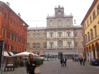 Visiting Italy's military academy in Modena