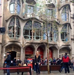 Visiting Antoni Gaudi's Casa Batllo in Barcelona