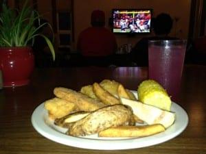 Good food and football