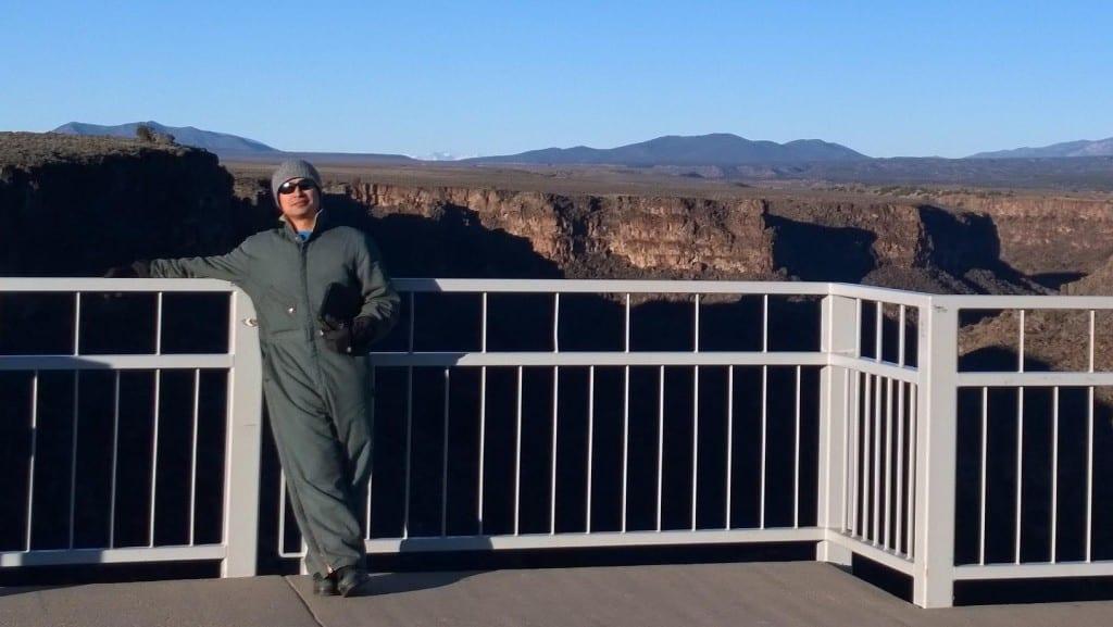 At the Rio Grande Gorge