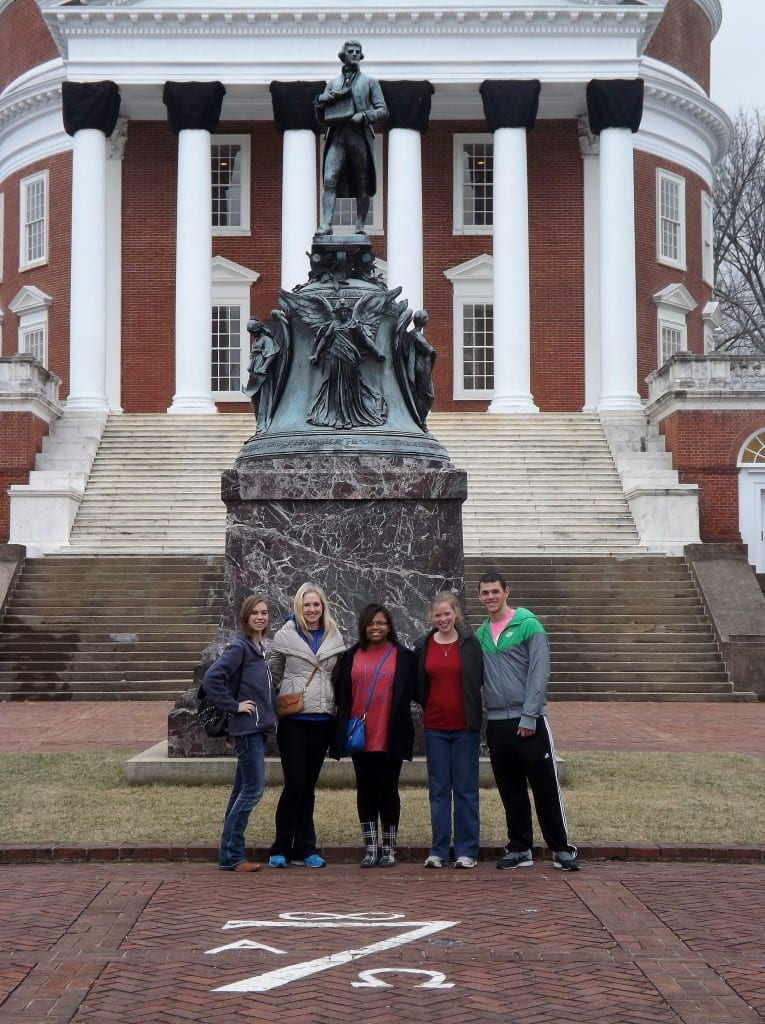 At the University of Virginia