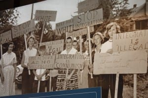 Protestors for segregation - Recognize any commonalities to modern time political and social issues?