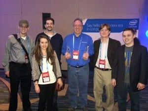 SMU Guildhall's winning 'Kraven Manor' team at GDC 2014