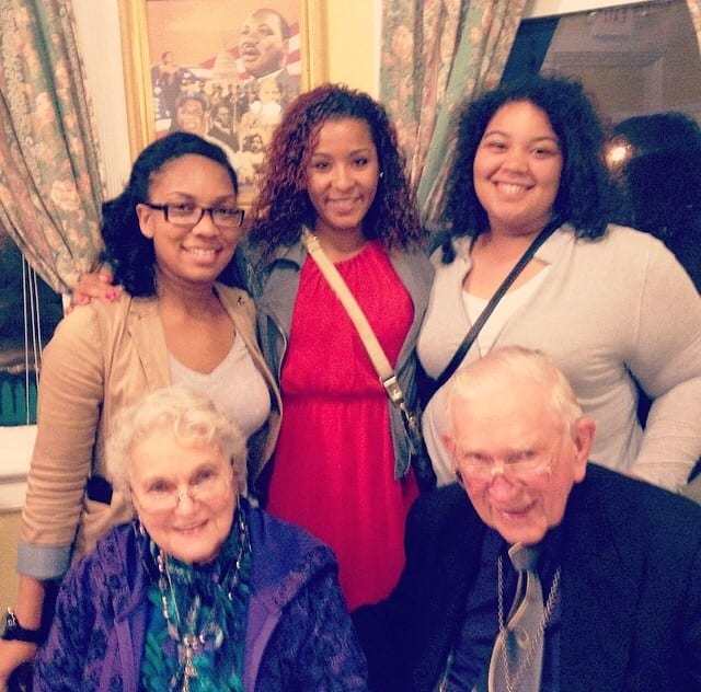 Civil rights leaders, Mr. & Mrs. Robert S. Graetz. To meet them in my lifetime is phenomenal. They fought for rights that they currently had that others didn't and for that their house was bombed three times and their lives threaten numerous times. I can't say it enough---THANK YOU!!!