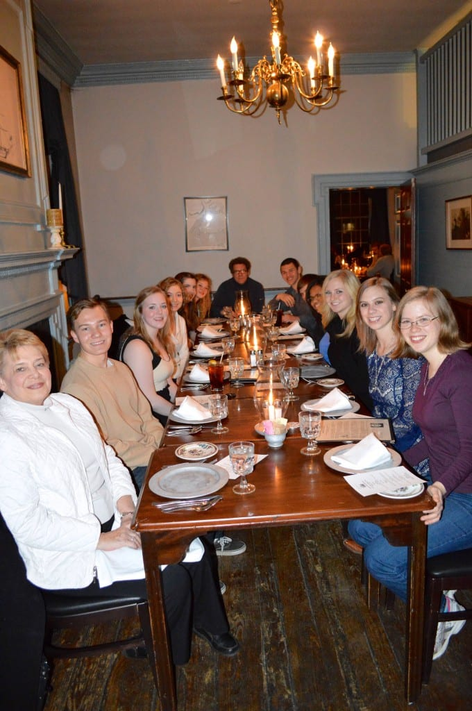 Dinner at Gadsby's Tavern 2