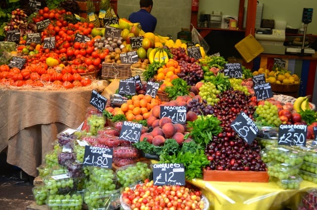Borough Market produce
