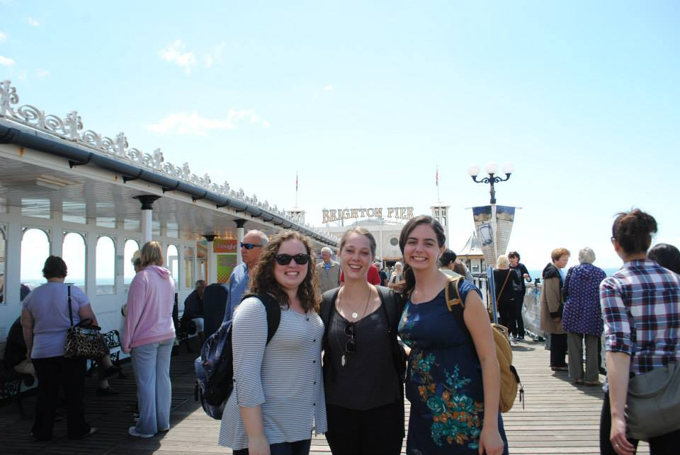 Brighton Pier, daytime