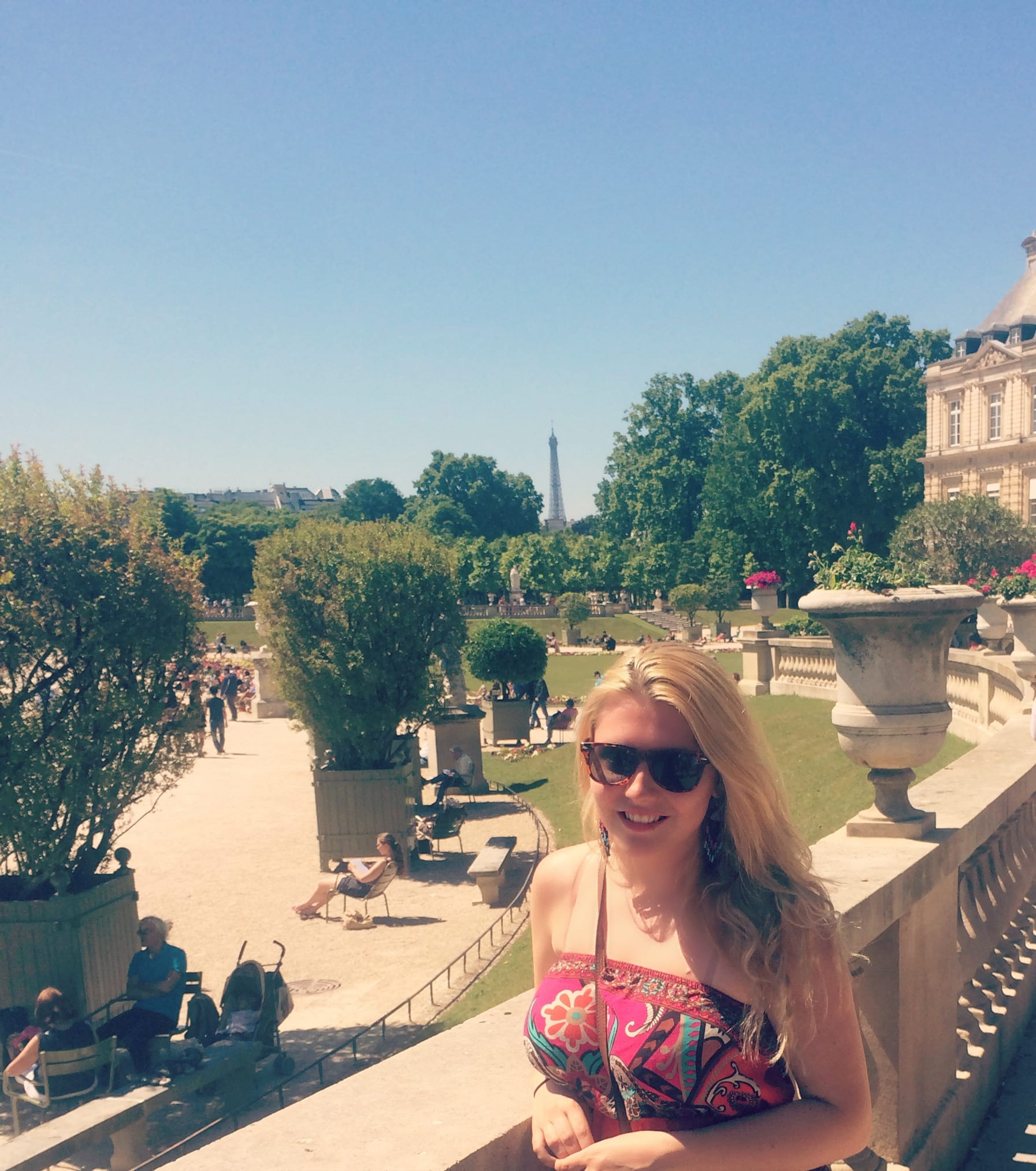 Kinga in Paris - SMU-in-London Arts 2014