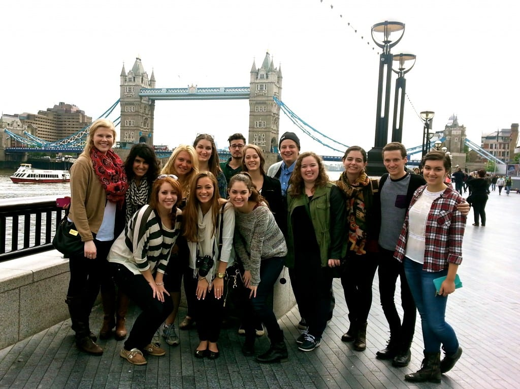 SMU-in-London: Arts at Tower Bridge. Photo credit: Becca/SMU Adventures