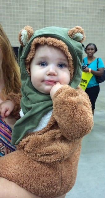Baby ewok, San Antonio Comic Con 2014
