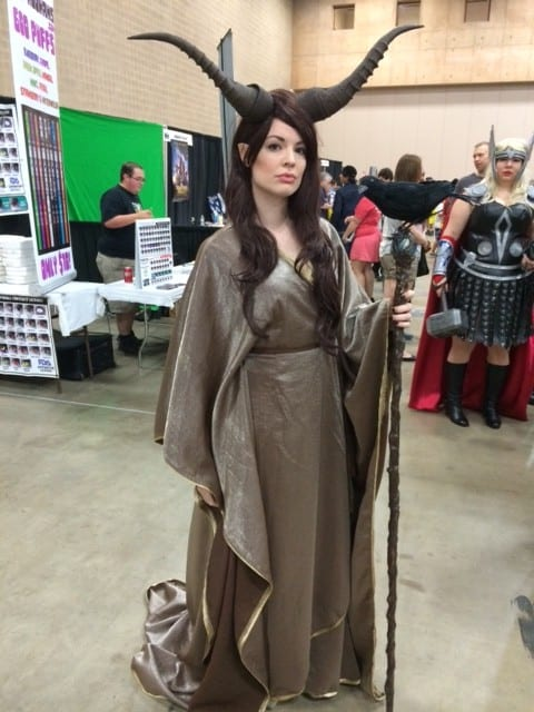 Maleficent, San Antonio Comic Con 2014