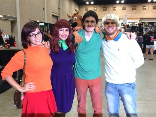 Scooby Doo cosplayers, San Antonio Comic Con 2014