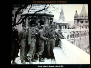 Image of German soldiers in Budapest. Photo by Carlos/SMU Adventures