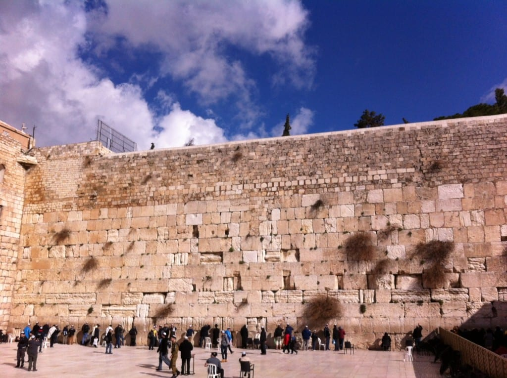 The Western Wall Plaza, the large open area that faces the Western Wall, functions as an open-air synagogue.