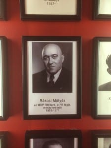 The wall of victimizers: Mátyás Rákosi, the leader of Hungary's Communist Party from 1945 to 1956. Photo by Vanna/SMU Adventures