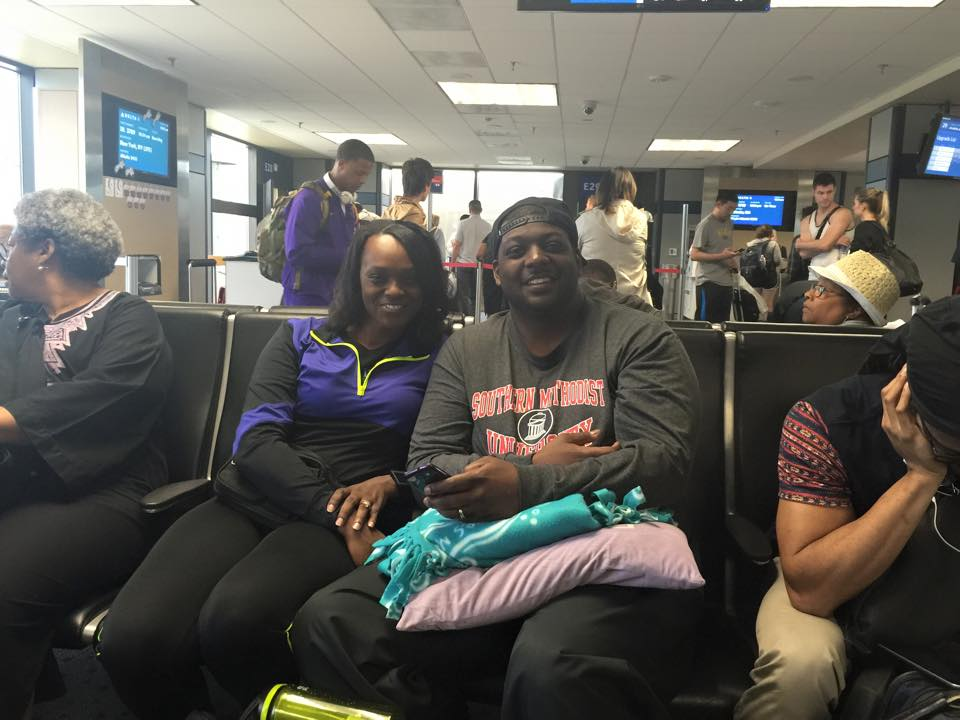 Kantrice and Charles Robinson are among the nine Perkins students traveling with Dr. Evelyn Parker, Associate Dean for Academic Affairs.