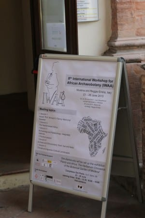 The 8th International Workshop for African Archaeobotany was held one of the many satellite campuses of the University of Reggio-Emilia and Modena in beautiful Modena, Italy.