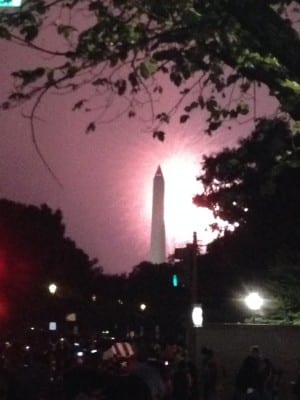 July 4 on the Mall