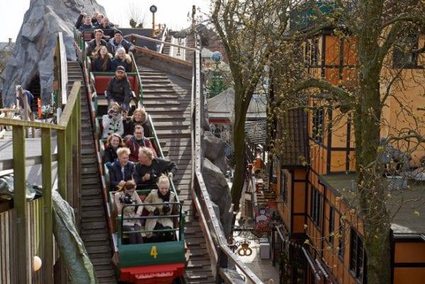 """""""Rutschebanen"""" aka """"The Roller Coaster"""" image courtesy of tivoli.dk"""
