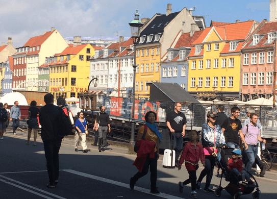 The breathtaking Copenhagen harbor