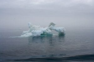 The ice can take on some really strange shapes as it is subjected to the harsh conditions of the Arctic.