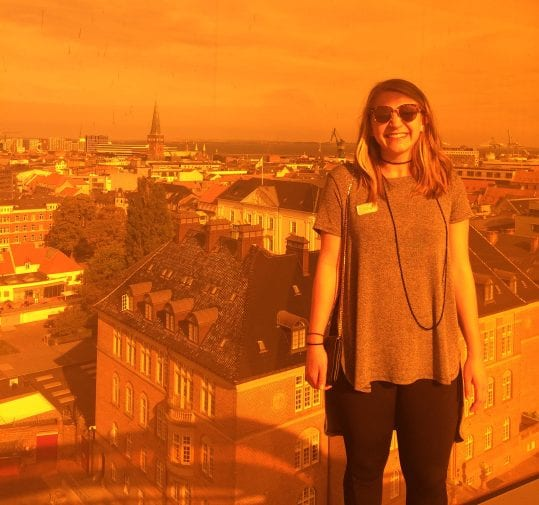 This orange filter brought to you by the rainbow panorama exhibit at the ARoS museum in Aarhus.