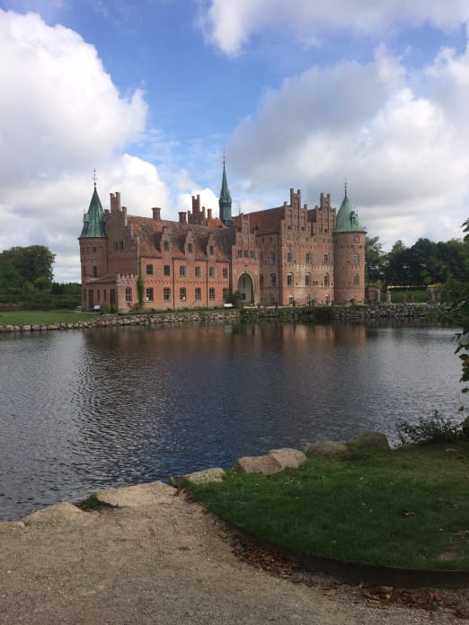 A trip to Egeskvo Slot, one of Denmark's many beautiful castles…