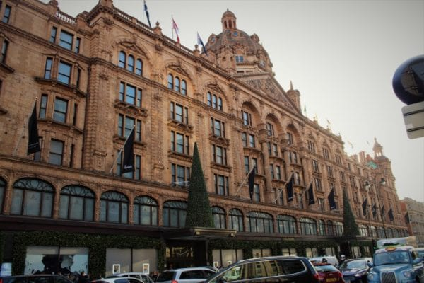 Harrod's Department Store is a must-visit. I spent a good four hours here admiring the merchandising and sampling British delicacies.