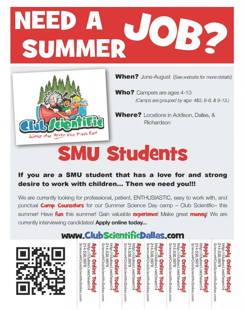 2014 Wanted Flyer SMU