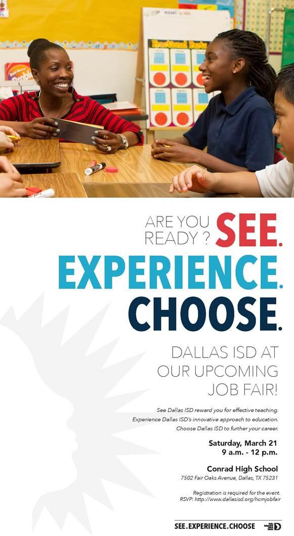 dallas isd job fair