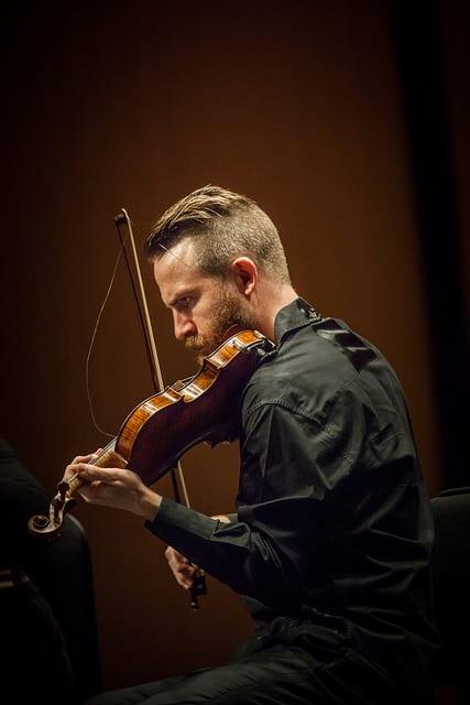 Director of SYZYGY, Meadows' Music Ensemble, Matt Albert focuses