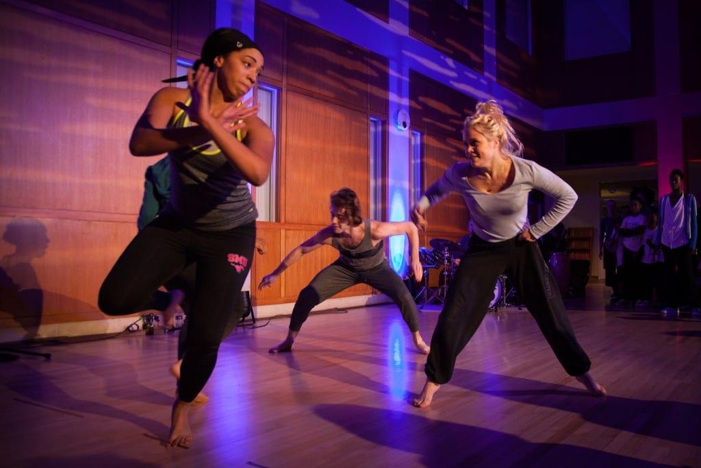 Meadows Prize winner Jawole Zollar's Dance Workshop