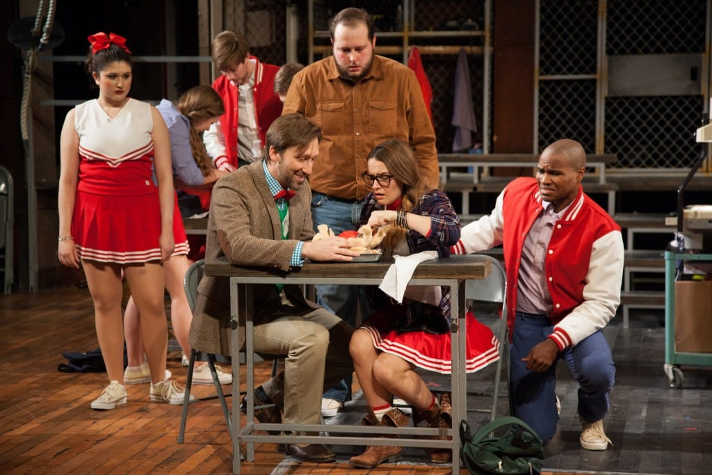Scene fromThe Sparrow, (directed by alum Molly Beach Murphy, B.F.A. Theatre '09),