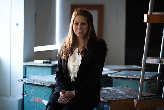 Meadows art history M.A. student Sarah Foltz