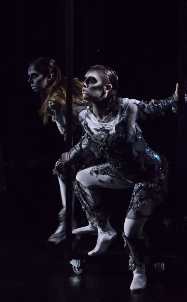 Macbeth witches; photo by Mari Taylor, MFA stage design 2017
