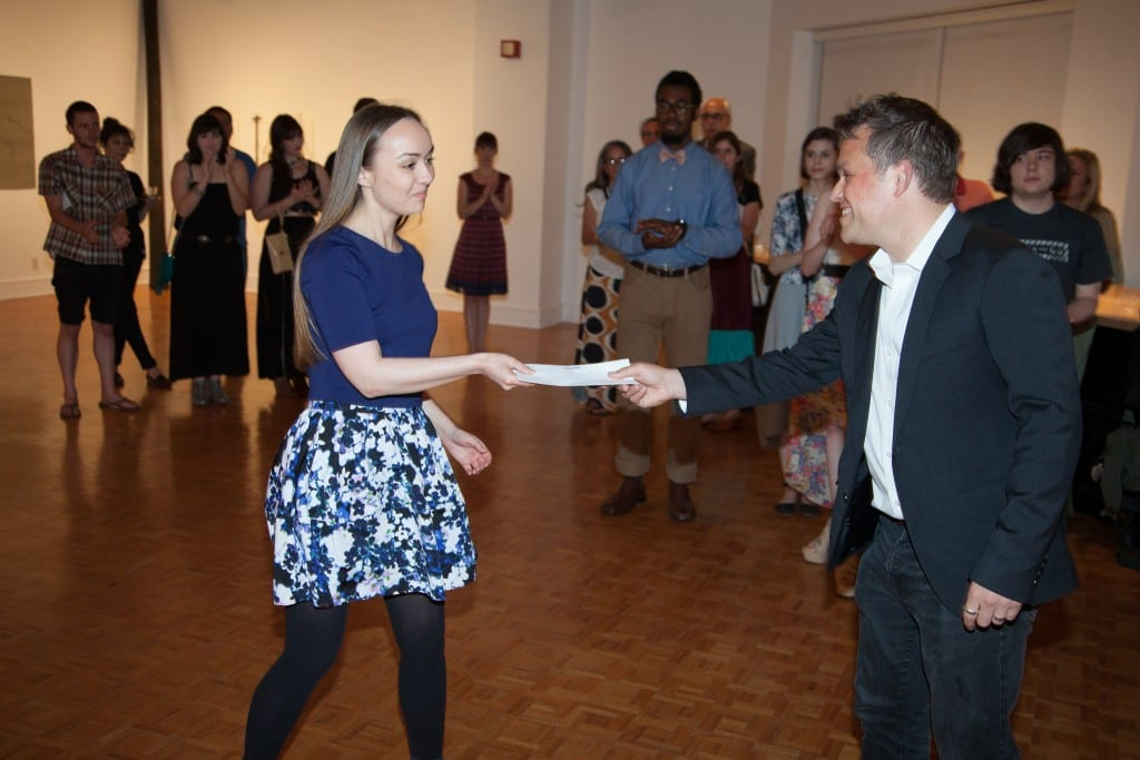 Kate Jarboe (M.F.A. '15) was one of three Meadows grads to win the Mercedes-Benz Financial Services Texas Art Award