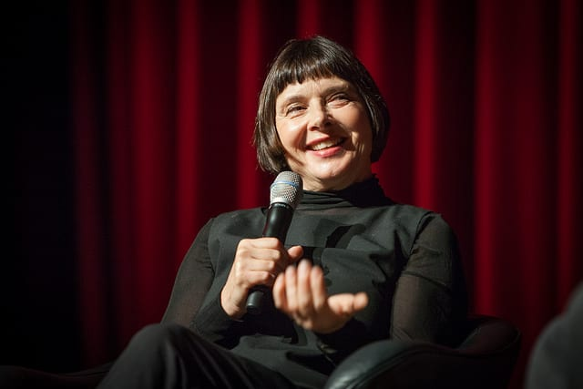 Isabella Rossellini, in a conversation with SMU Film's Rick Worland All photos by Kim Leeson