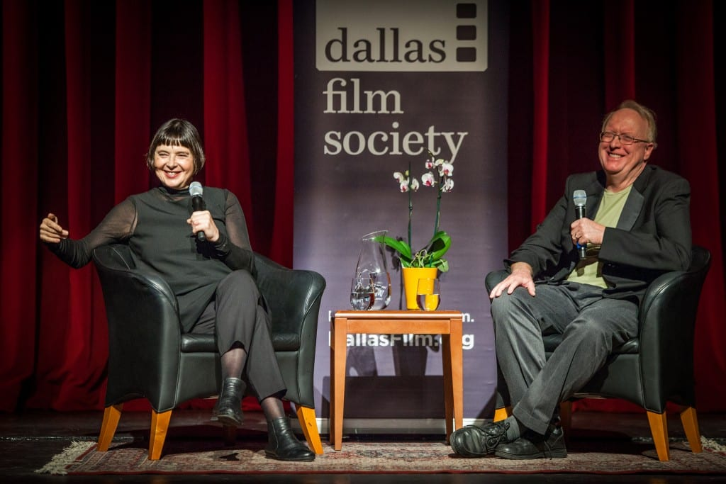 Isabella Rossellini presented a Film Master Class alongside Film's Rick Worland (photo by Kim Leeson)