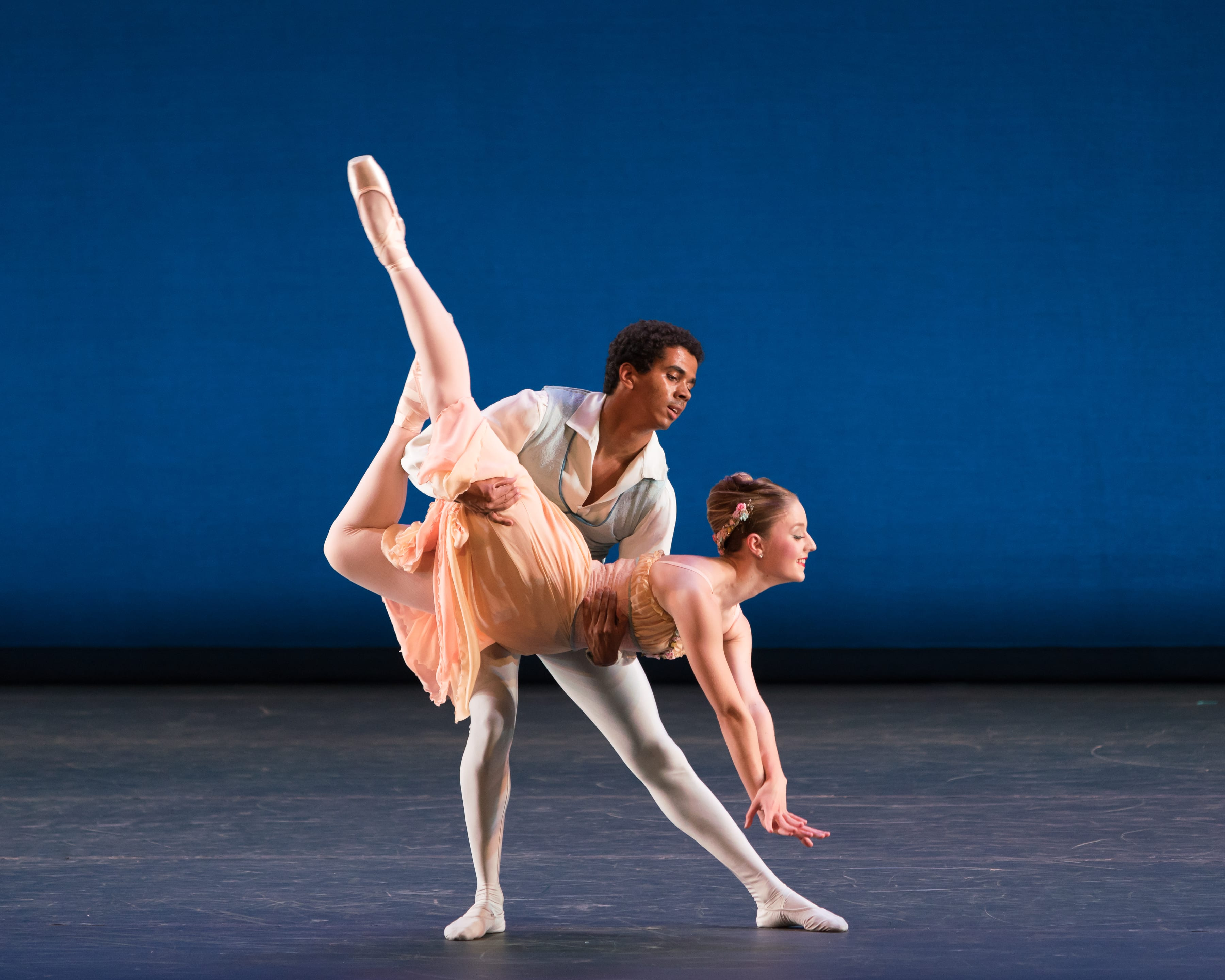Tschaikovsky's Pas de Deux, an eight-minute display of ballet bravura and technique set to music