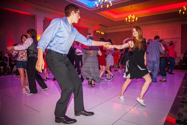 10 Photos We Love from the Second Annual Swing Dance Concert